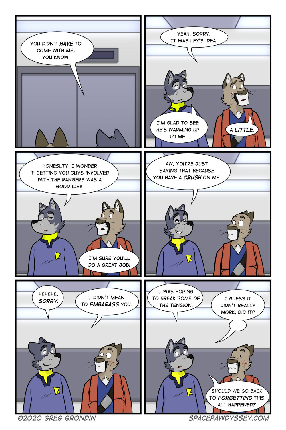 Space Pawdyssey #387