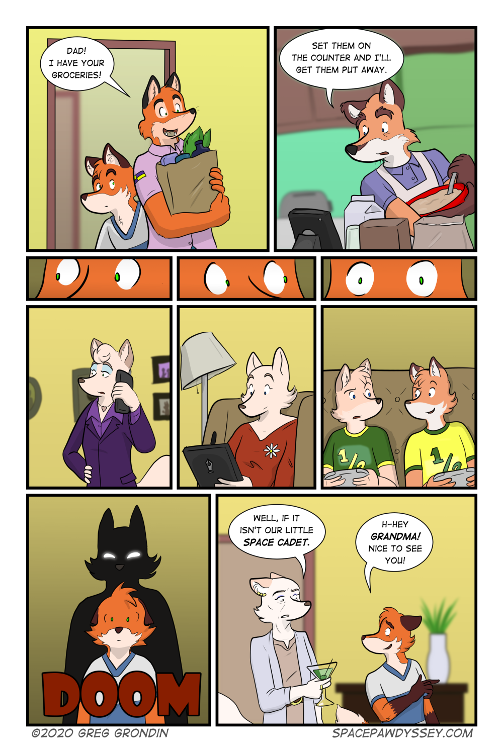 Space Pawdyssey #392