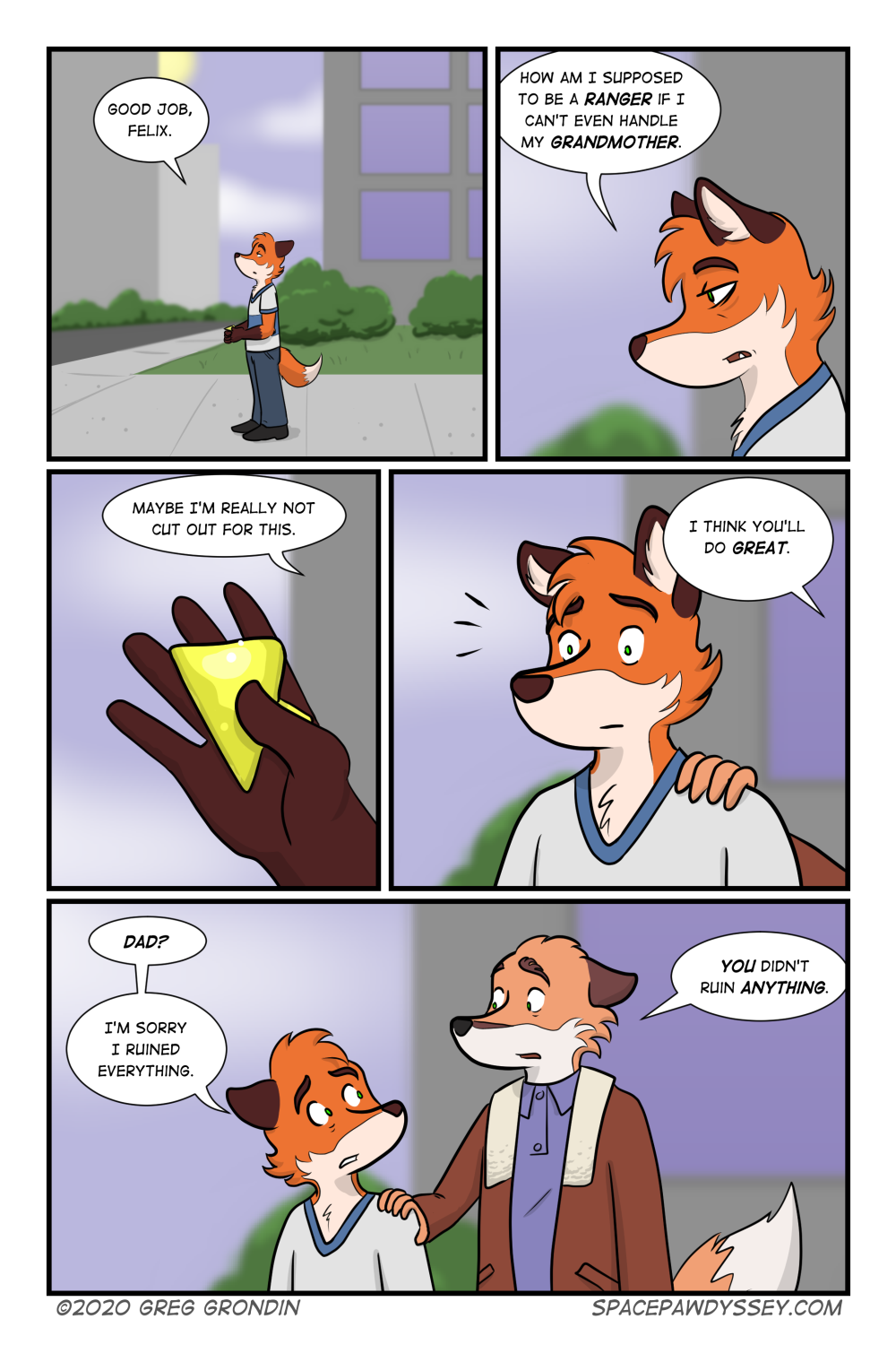 Space Pawdyssey #414