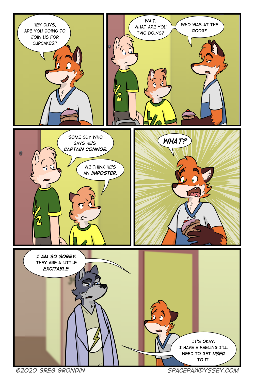 Space Pawdyssey #424