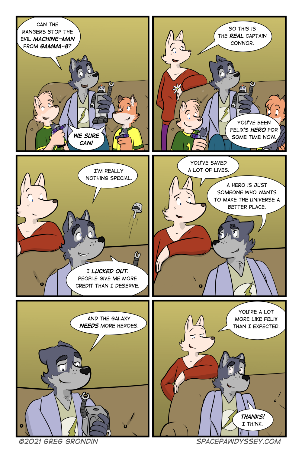 Space Pawdyssey #429
