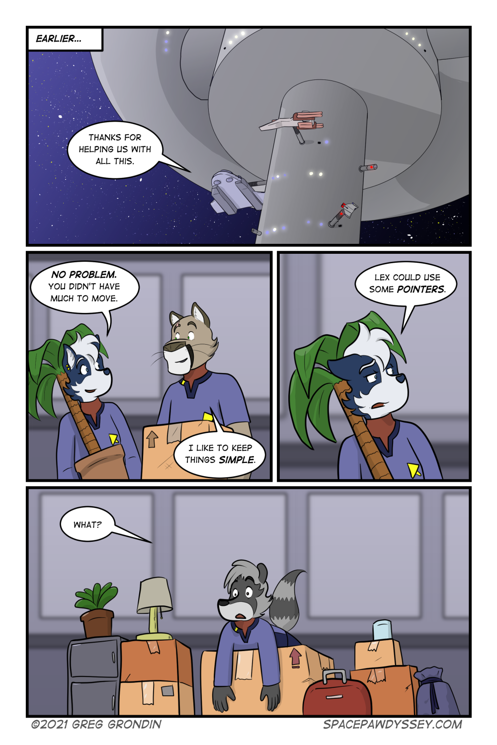 Space Pawdyssey #432