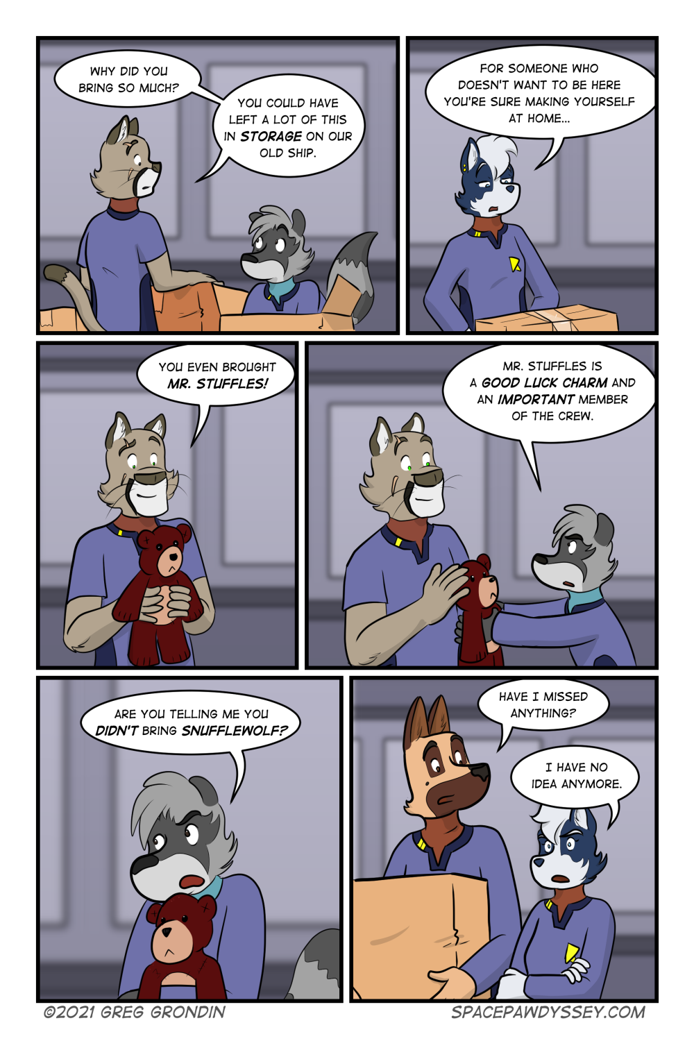 Space Pawdyssey  #433