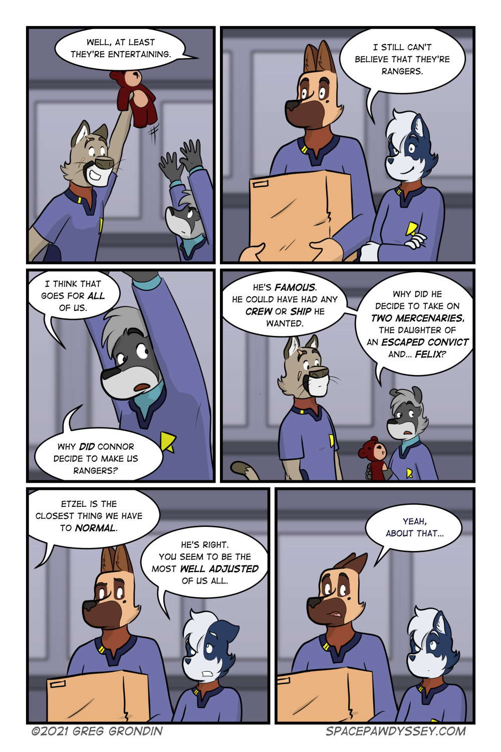 Space Pawdyssey #434