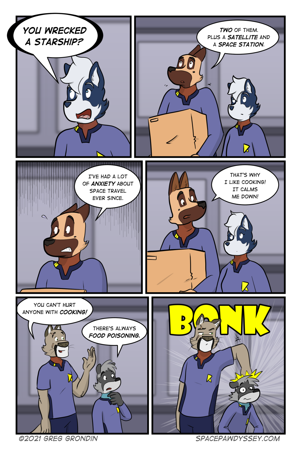 Space Pawdyssey #435