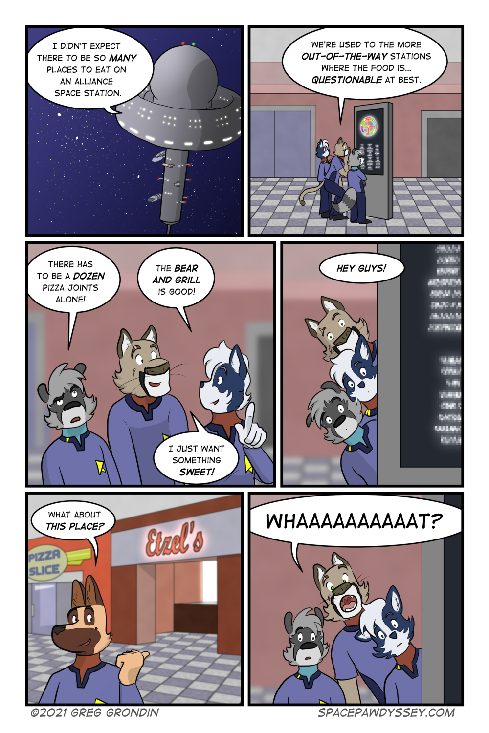Space Pawdyssey #439