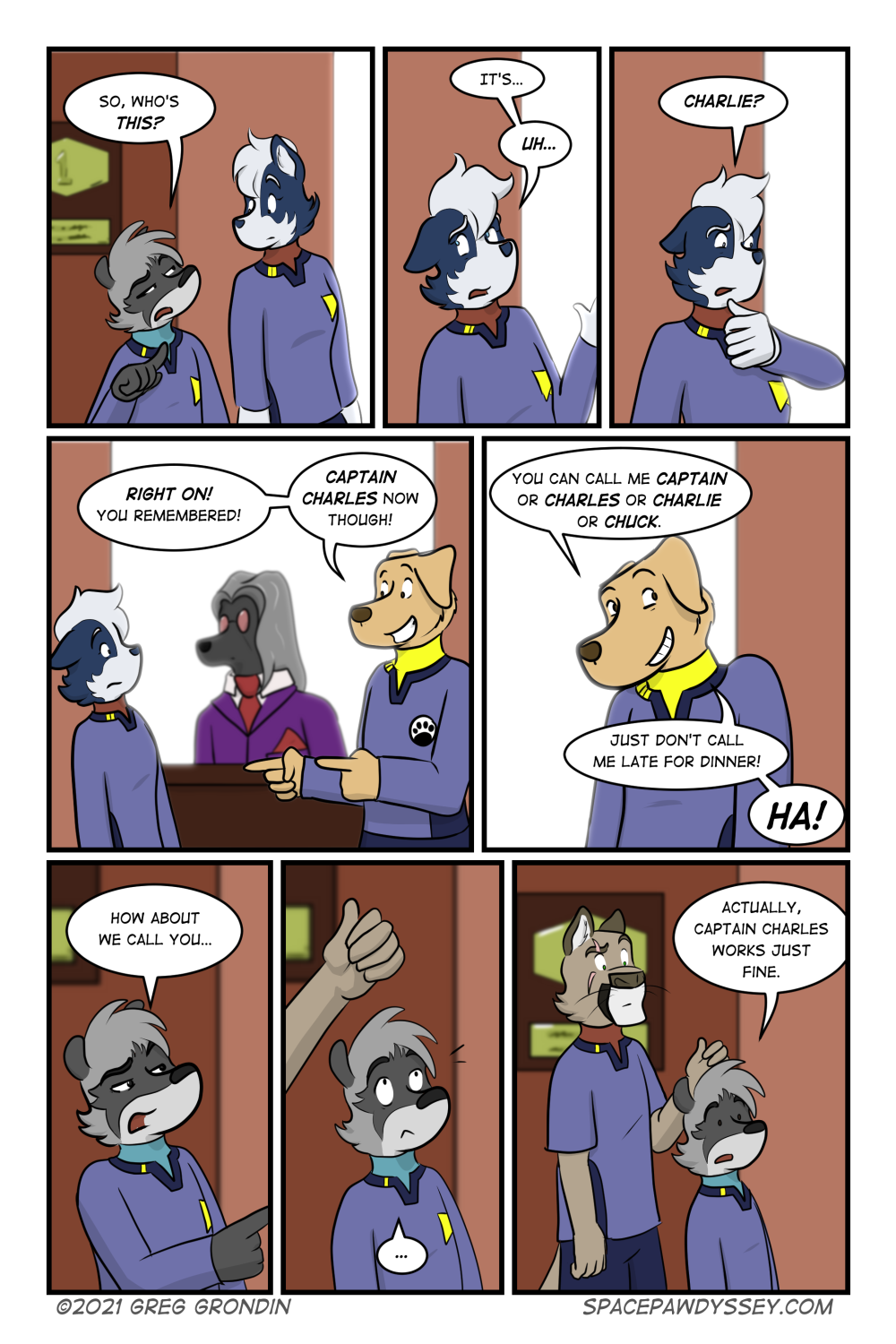 Space Pawdyssey #442