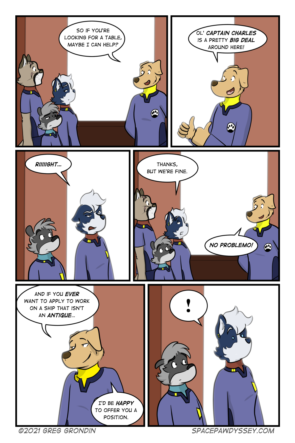 Space Pawdyssey #444