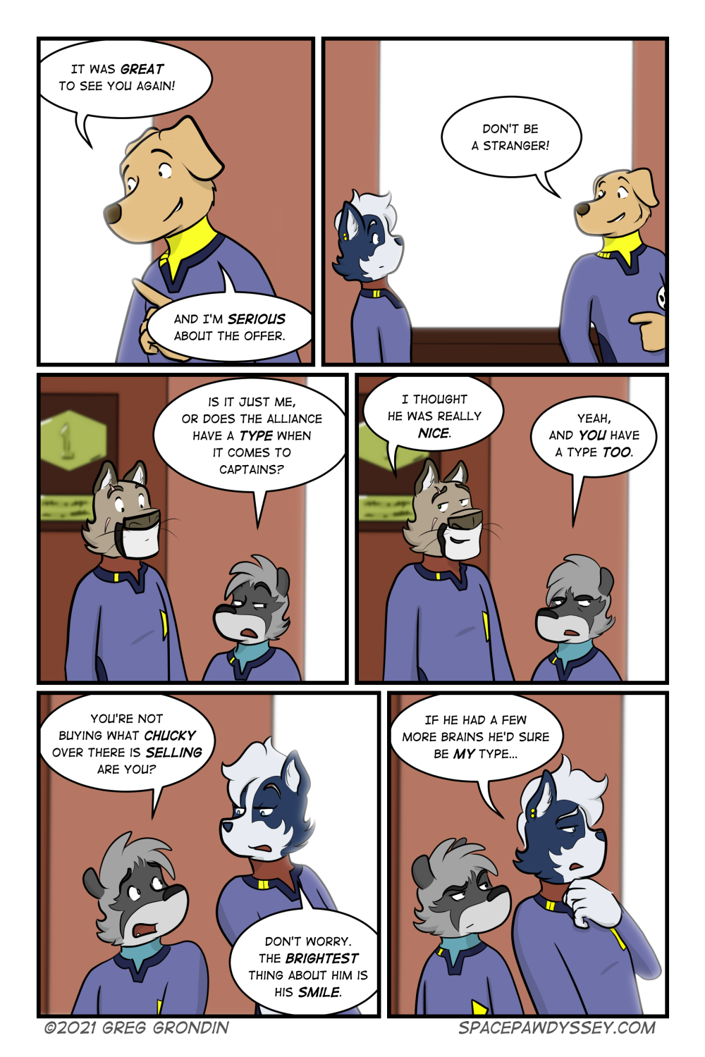 Space Pawdyssey #445