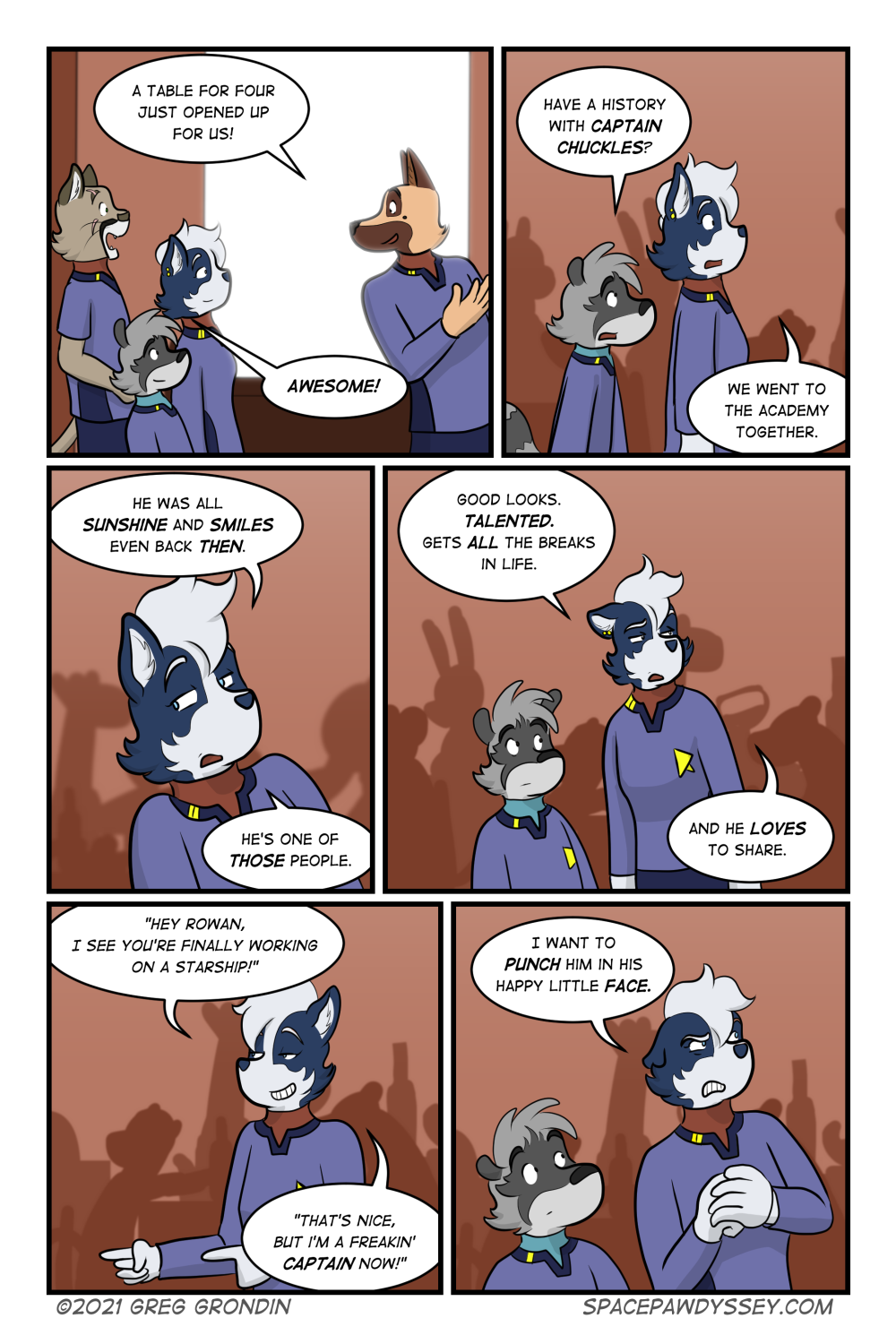 Space Pawdyssey #446