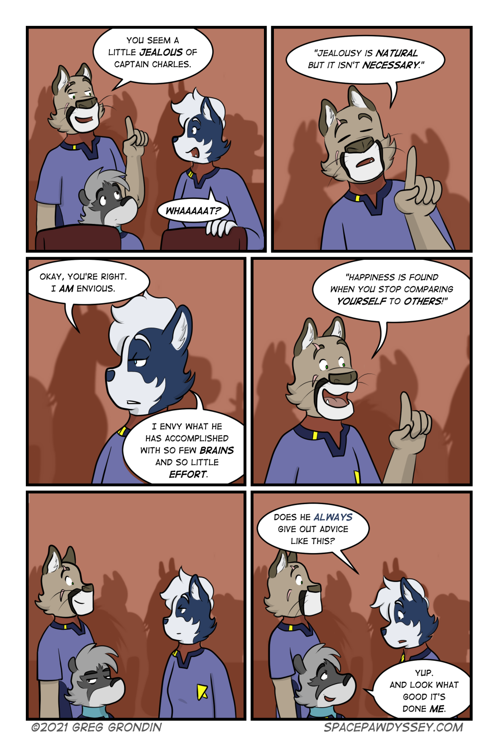 Space Pawdyssey #447