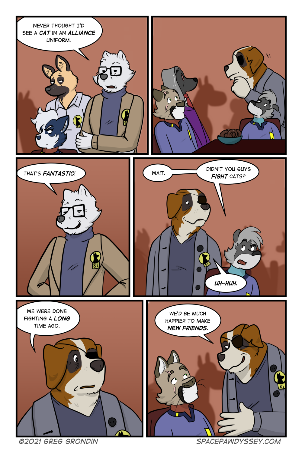 Space Pawdyssey #451