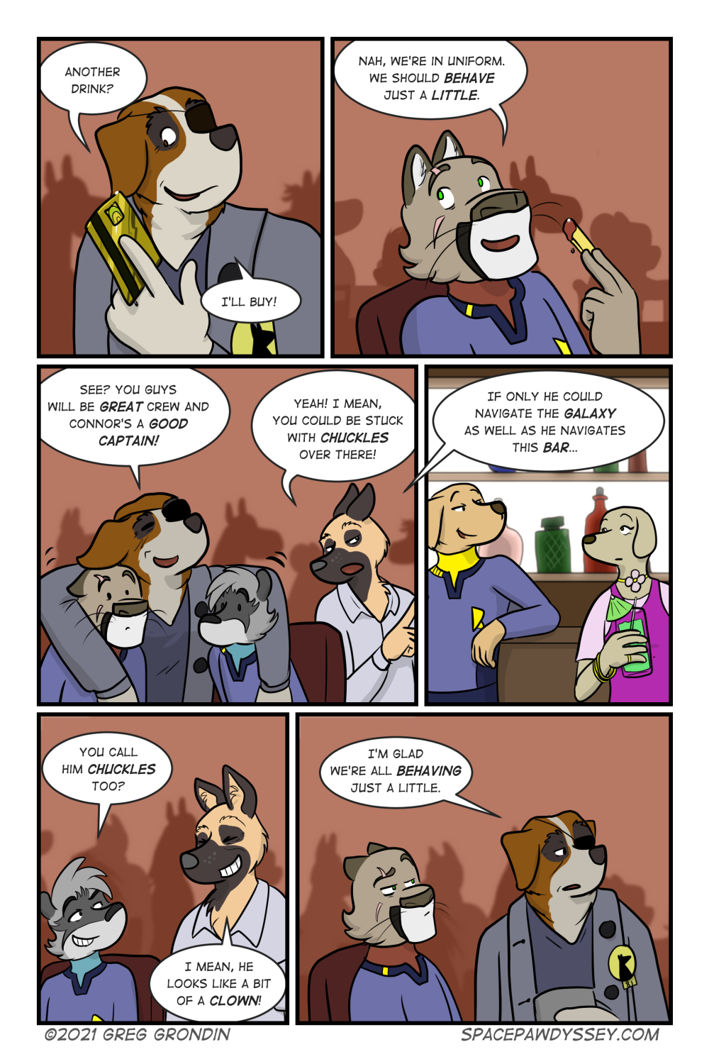 Space Pawdyssey #459