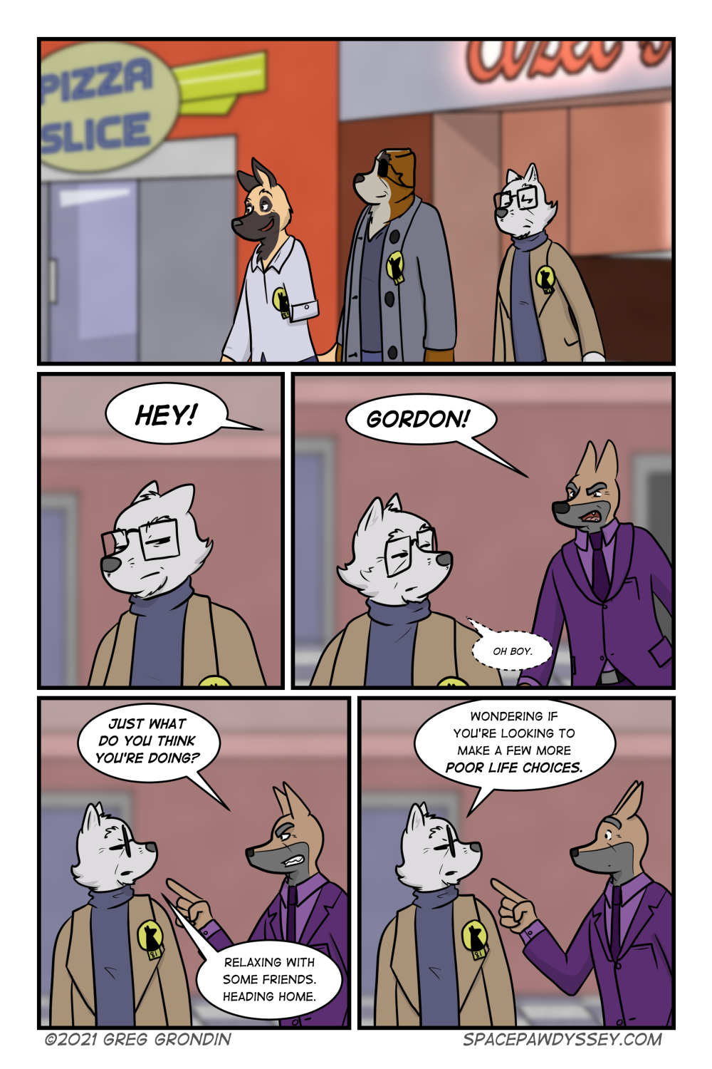 Space Pawdyssey #464