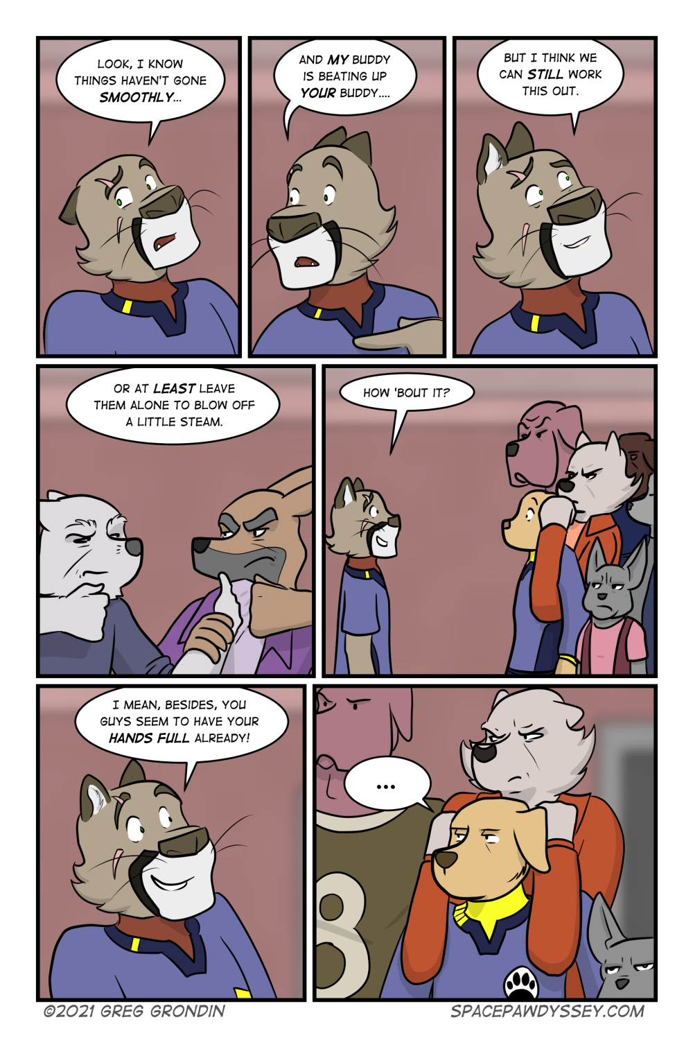 Space Pawdyssey #474