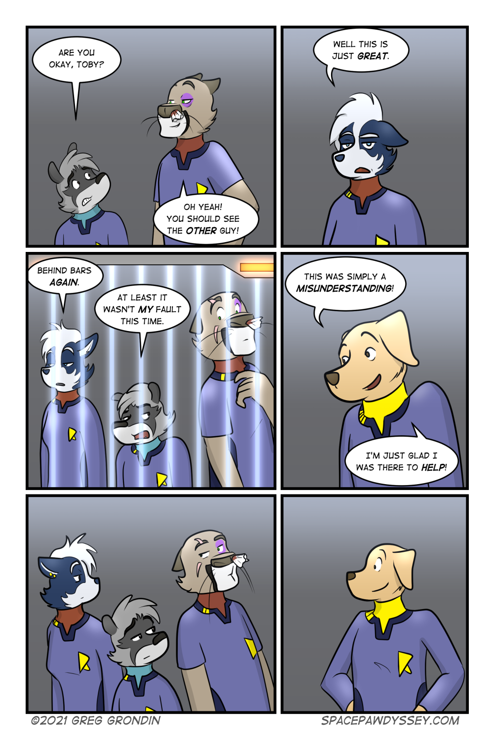 Space Pawdyssey #483