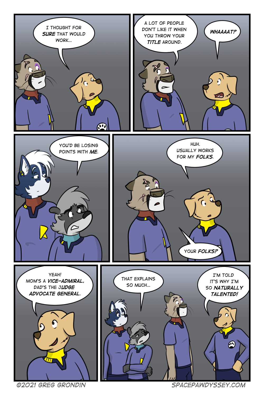 Space Pawdyssey #486