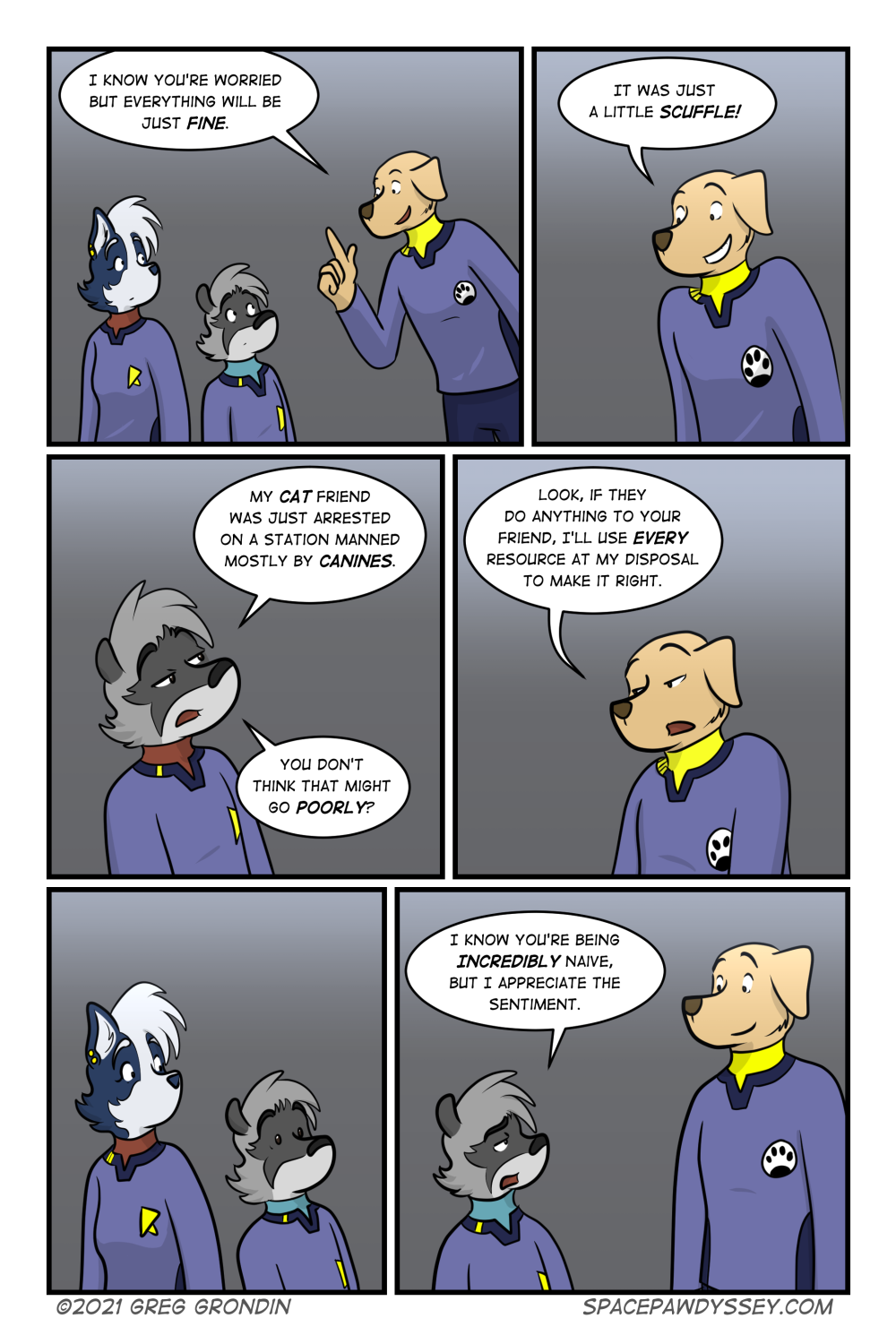 Space Pawdyssey #492