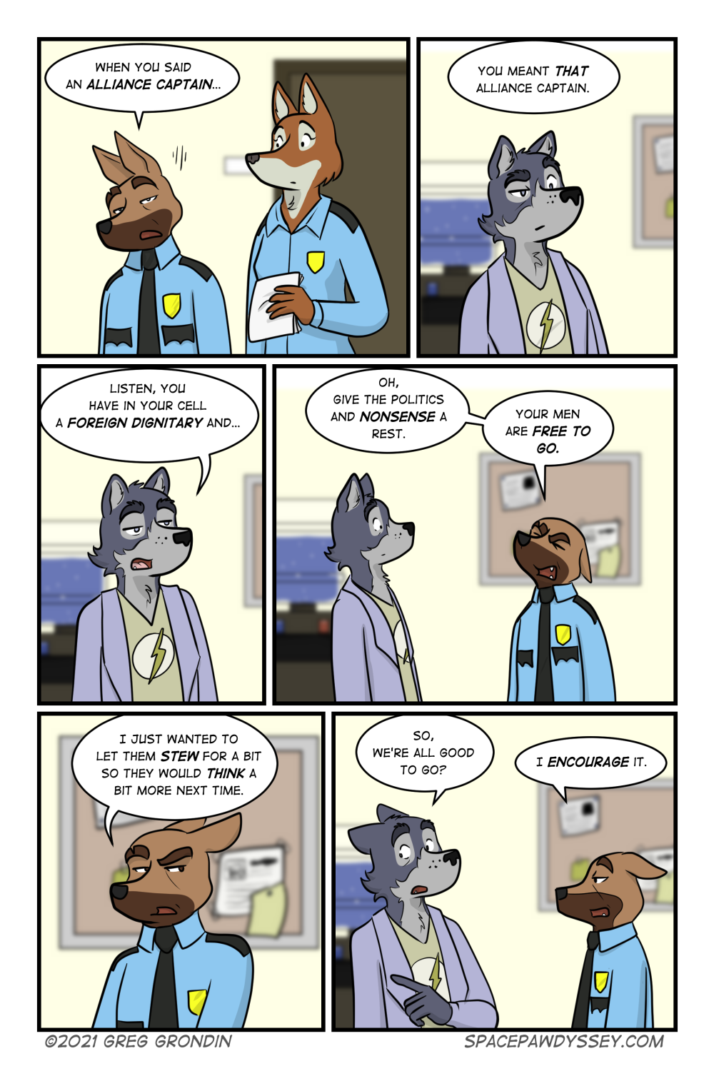 Space Pawdyssey #496