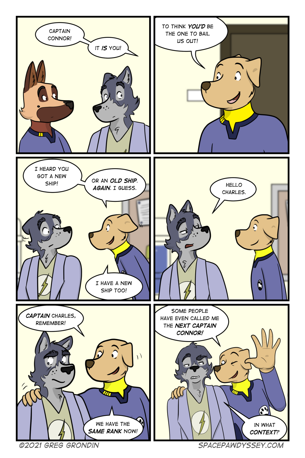 Space Pawdyssey #500