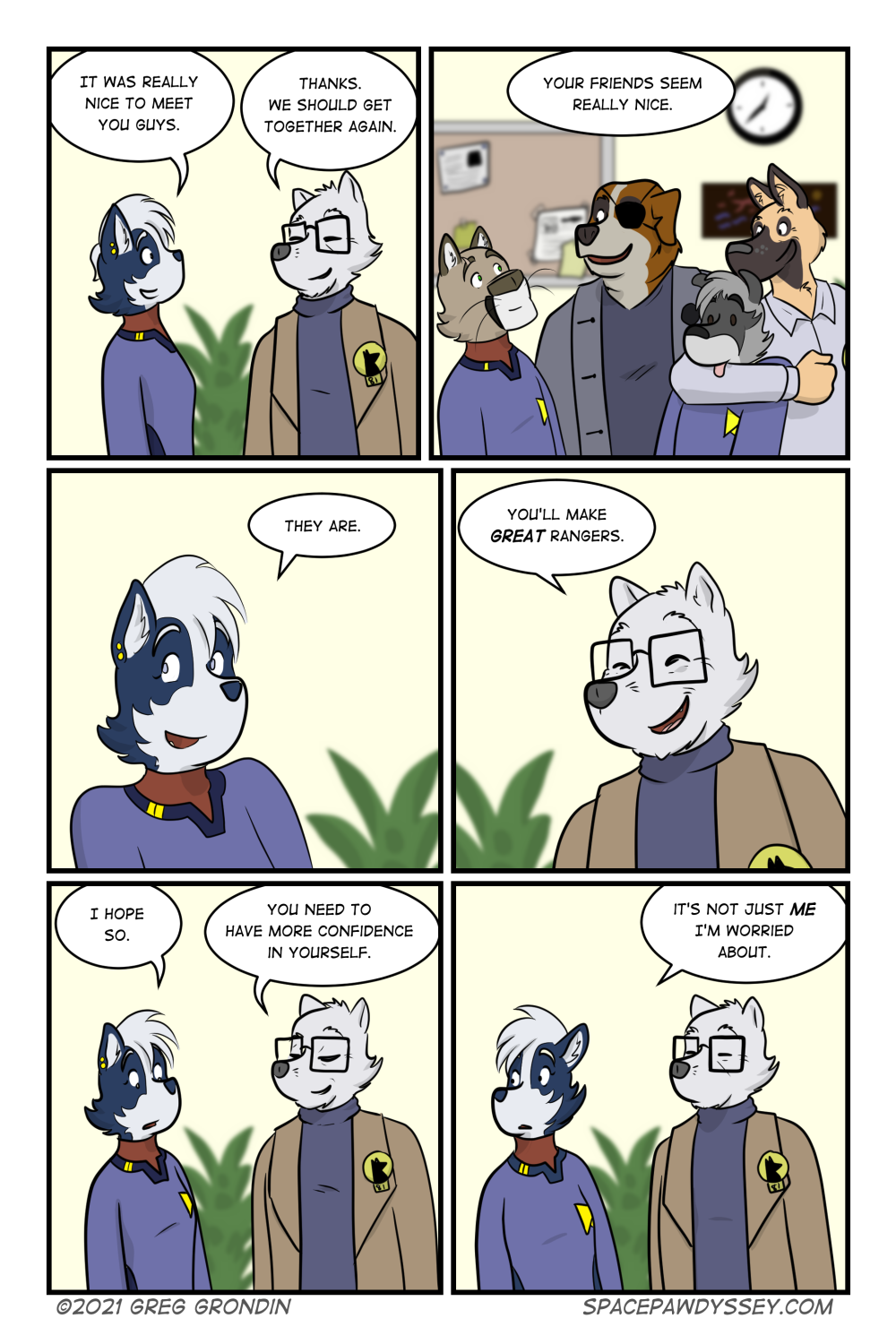 Space Pawdyssey #501